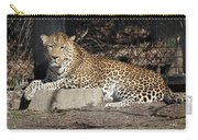 Leopard Relaxing Carry-all Pouch