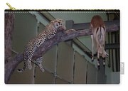 Leopard Tree Cat Preying Carry-all Pouch