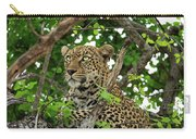 Leopard With Piercing Eyes Carry-all Pouch