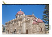 Lerapetra Church Of Saint George Panorama Carry-all Pouch