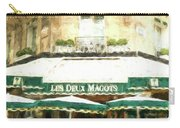 Les Deux Magots - Impressionistic Carry-all Pouch