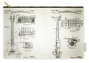 Les Paul Guitar Patent 1955 Carry-all Pouch