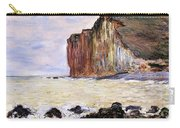 Les Petites Dalles Carry-all Pouch by Claude Monet