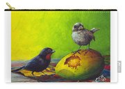 Lesser Antillean Bullfinches And Mango Carry-all Pouch