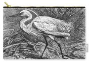 Lesser Egret Carry-all Pouch