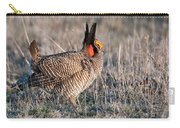 Lesser Prairie Chicken Displaying Carry-all Pouch