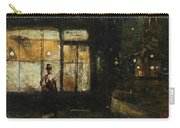 Lesser Ury  Parisian Boulevard At Night Carry-all Pouch