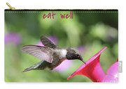Lessons From Nature - Eat Well Carry-all Pouch
