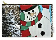 Let It Snow - Happy Holidays Carry-all Pouch