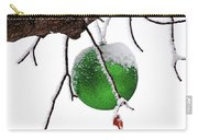 Let It Snow Christmas Ornament Carry-all Pouch