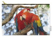 Let Me Get It - Scarlet Macaws Carry-all Pouch