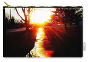 Let The Sun Light Your Path Carry-all Pouch