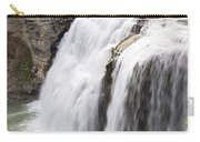 Letchworth Middle Falls Carry-all Pouch by Michael Chatt