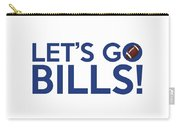 Let's Go Bills Carry-all Pouch