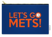 Let's Go Mets Carry-all Pouch