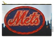 Lets Go Mets Carry-all Pouch by Richard Bryce and Family