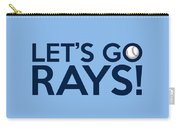 Let's Go Rays Carry-all Pouch