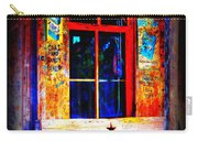 Let's Go To Luckenbach Texas Carry-all Pouch by Susanne Van Hulst