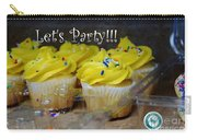 Let's Party Cupcakes Carry-all Pouch