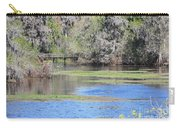 Lettuce Lake With Bridge Carry-all Pouch