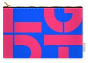 Lgbt Blue And Pink Carry-all Pouch