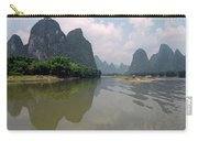 Li River At Xingping Carry-all Pouch
