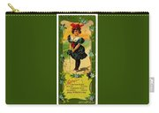 Libbys Bookmark Vintage With Girl On Beach Carry-all Pouch