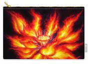 Lotus Of Wisdom. Liberty Fire Carry-all Pouch