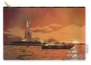 Liberty Island- New York Carry-all Pouch