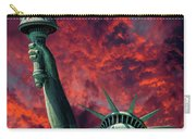 Liberty On Fire Carry-all Pouch