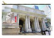 Library Lion Carry-all Pouch