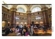 Library Of Congress, Main Reading Room, Jefferson Building - 2 Carry-all Pouch
