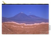 Licancabur Volcano Seen From The Atacama Desert Chile Carry-all Pouch
