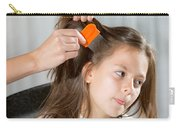 Lice In Head Carry-all Pouch