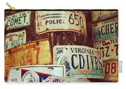 License Plate Carry-all Pouch
