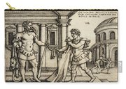Lichas Bringing The Garment Of Nessus To Hercules Carry-all Pouch