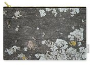 Lichen On Wood Carry-all Pouch