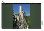 Lichtenstein Castle Carry-all Pouch by Yair Karelic