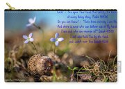 Life Delicate And Strong Carry-all Pouch