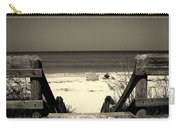 Life Is A Beach Carry-all Pouch by Susanne Van Hulst