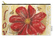 Life Is The Flower Carry-all Pouch by Debbie DeWitt