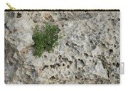 Life On Bare Rock - Pockmarked Limestone And Thyme Carry-all Pouch