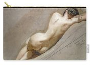 Life Study Of The Female Figure Carry-all Pouch by William Edward Frost