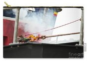Lifeboat Chocks Away  Carry-all Pouch by Terri Waters