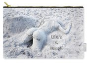 Life's A Beach By Sharon Cummings Carry-all Pouch