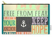 Lift Your Anchor Carry-all Pouch