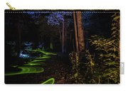 Lighit Painted Forest Scene Carry-all Pouch