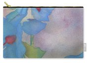Light Blue Poppies Carry-all Pouch