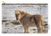 Light Brown Pony Carry-all Pouch
