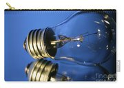 Light Bulb - Blue Carry-all Pouch